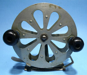 EXCELLENT ANTIQUE A.F. MEISSELBACH & BRO HERMOS NJ BIG GAME FLY FISHING REEL NR