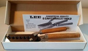 Lee 3 Handle 6 Cavity 357 Mag Bullet Mold #90327  New in Box