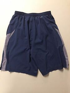 EUC Nike FITDRY Fit Dry Boys' Shorts- Navy with Grey Size Small