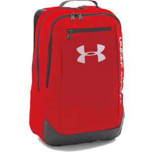 Under Armour Hustle Ldwr Mens Rucksack - Red One Size