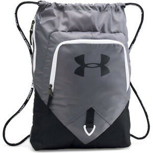 Under Armour Undeniable Sackpack Mens Bag Gym - Graphite One Size