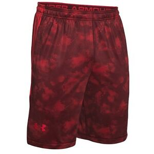 Under Armour Men's 2XL Loose fit Red Raids Shorts Heatgear Red camo 600 NEW NWT