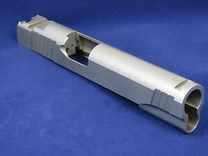 1911 Slide Full Size STAINLESS STEEL .40 S&W 40 cal LPA TRT Sight Cut - 80 & 70