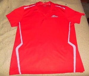 PORT AUTHORITY SPORT TEK RED POLO BUSINESS SHIRT FOR DON REID FORD SIZE XXL
