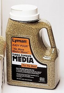 Lyman Reloading Corncob Case Cleaning Medail 6 lb Easy Pour