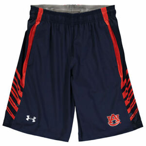Under Armour Auburn Tigers Navy Woven Performance Training Shorts - College