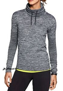 Nike Dri-FIT Knit Infinity Women's Training Cover-Up S Gray Shirt Hoodie Gym New