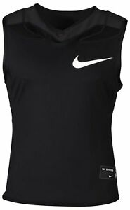 Nike Men's Dri-Fit Vapor Speed Padded Football Shirt-Black
