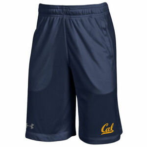 Under Armour Cal Bears Youth Navy Training Speed Tech Shorts - College