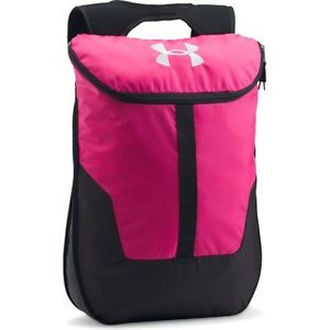 Under Armour Expandable Sackpack Unisex Rucksack - Tropic Pink One Size