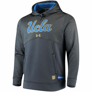Under Armour UCLA Bruins Gray 2017 Sideline Storm Armour Performance Hoodie