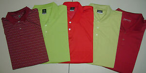Lot of 5 NIKE DRI FIT GOLF POLO 2XL  Shirts EXCELLENT CONDITION  T6738