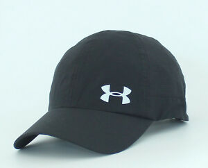 New Auth Women's Under Armour Fly Fast Cap with Side Mesh Panels Golf Run Hat Bk