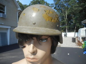 US Army Kevlar Helmet Size XS2 Fits Like a mans 7 14 inch Hat