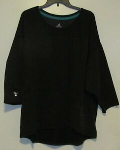 NWT $49.95 Disney Parks Men's Mickey Icon Black Running Workout Shirt XS S $9.99