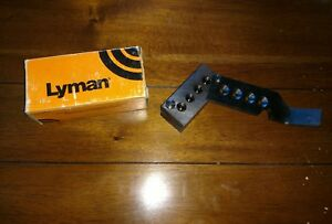 LYMAN 4 CAVITY BULLET MOLD 685 RELOADING TOOL W-1 MOULD #4524600 45ACP SWC