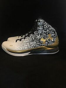 Under Armour Curry 1 MVP Pack Size 12 Free Shipping