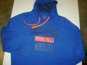 Under Armour COLD GEAR Hoodie 2XL TALL LOOSE  MENS Sweatshirt T7023