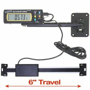 iGaging Digital Readout EZ VIEW DRO PLUS 6quot; AC Capable Remote X LG LCD Display $38.95