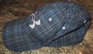 BoysYouth Under Armour Golf Fitted Plaid Cap YML FREE SHIPPING
