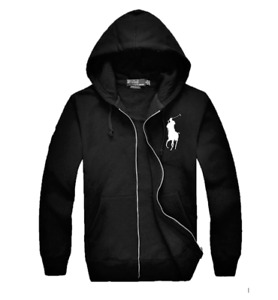 New NWT Mens Ralph Lauren Polo Big Pony Hoody Jacket Small Medium Large XL 2XL