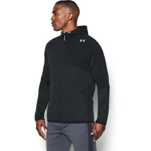 Under Armour Reactor Insulated Full Mens Hoody Zip - Black All Sizes