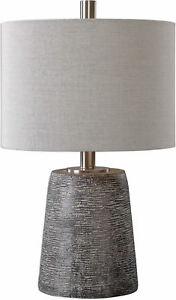 Duron Bronze Ceramic Table Lamp by Uttermost #27160-1