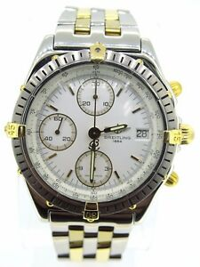 1e410bf4ca6 Breitling Chronomat B13048 18k Yellow GoldStainless Steel Automatic Watch  40MM
