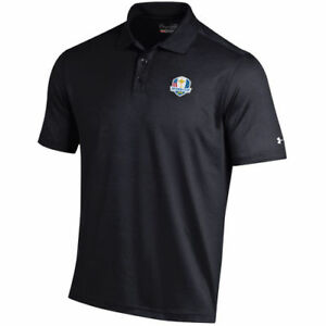 Under Armour Black 2018 Ryder Cup Performance Polo - Golf