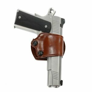 Galco Yaqui Slide Holster For COLT 5'in. 1911 Model Tan Right Hand: YAQ212