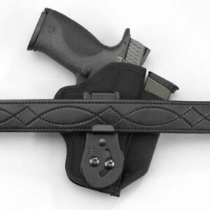 DeSantis Tuck-This II Holster - Ambidextrous Black M24BJU2Z0 - Sig P290 wLaser