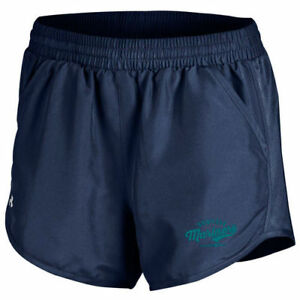 Under Armour Seattle Mariners Women's Navy Fly By Performance Running Shorts