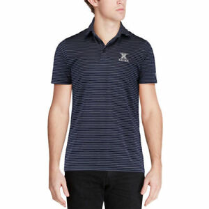 Under Armour Xavier Musketeers Navy Playoff Stripe Performance Polo - College