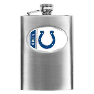 Indianapolis Colts Stainless Steel Flask - NFL