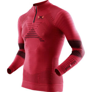 X-bionic Effektor Trail Running Powershirt Mens T-shirt Sports Top - Paprika