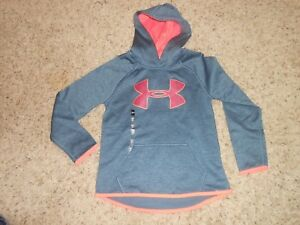 New Girls Under Armour Hoodie Size Small Youth Loose $49.99