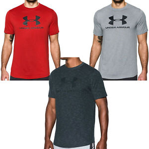 Under Armour UA Sportstyle Mens Short Sleeve Training T Shirt Top - Tall Sizing