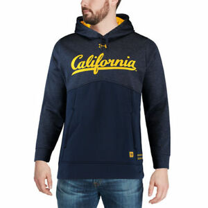 Under Armour Cal Bears Navy 2017 Sideline Storm Armour Performance Hoodie