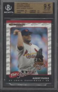 BGS 9.5 - 2001 Donruss Baseball's Best BRONZE #R97 Albert Pujols (RC) Cardinals