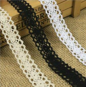 5 Yards Cotton Crochet Lace Clothing Hats Tablecloths decoration Sewing $1.85