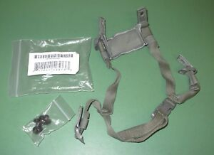 US Military Issue Army ACU Foliage 4 Point MICH ACH Helmet Retention Chin Strap
