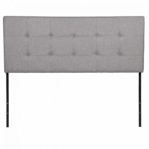 GrayWhite Twin Full Queen King Size Upholstered Headboard Bedroom Furniture