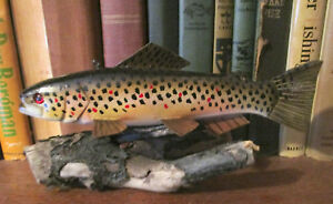 James Stangland Fish DecoyCarving (Brown Trout)