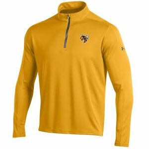 Georgia Tech Yellow Jackets Under Armour Golf Loose 14 Zip LS Pullover