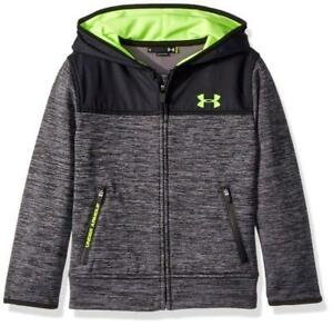 UNDER ARMOUR ~ NWT New! Toddler Boy's 2T or 3T ~ ALTITUDE Hoodie Jacket w Neon