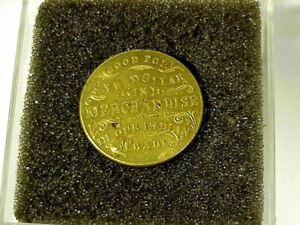CAMP SUPPLY Indian Territory POST TRADER TOKEN