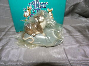 AFTER THE PARTY MOUSE FIGURINE~MOUSE ON MOUSE~LTD EDITION~COMPUTER MOUSE