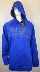 Under Armour Storm Men's Hoodie 4XLT Loose fit Water Resistant Blue NEW NWT