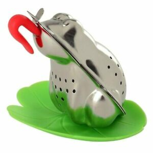 Norpro Frog Shape Silicone /  Stainless Steel Mesh Ball Loose Leaf Tea Infuser