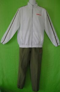 NWT~Umbro LION WOVEN Track Suit sweat shirt Jacket Top-Pants gym soccer~Mens Med